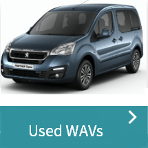 Used wheelchair accessible vehicles